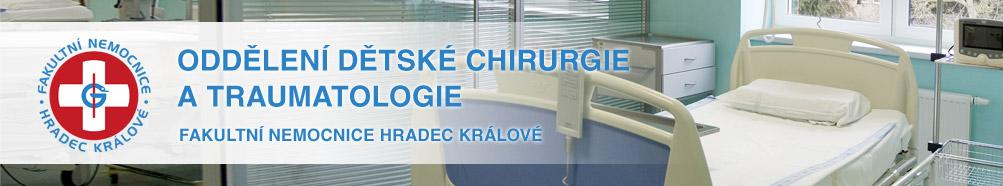 Oddělení dětské chirurgie a traumatologie