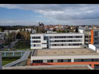 Pohled na nemocnici