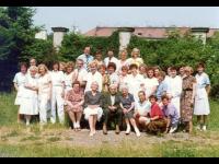 kolektiv kožní kliniky v r. 1994